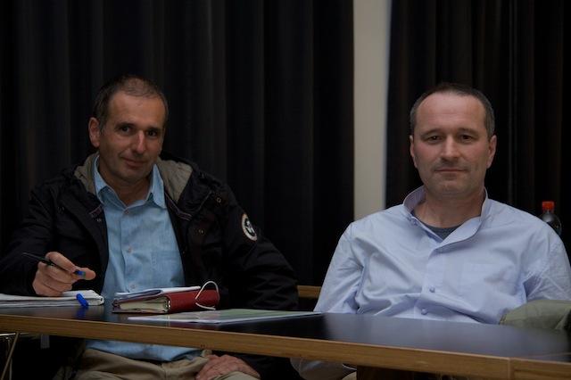 Luca Sciaroni e Davide Antognazza